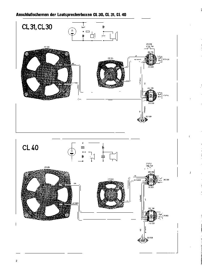 DUAL CL 30 31 40 60 70 80 100 LAUTSPRECHERBOXEN 1969 SM