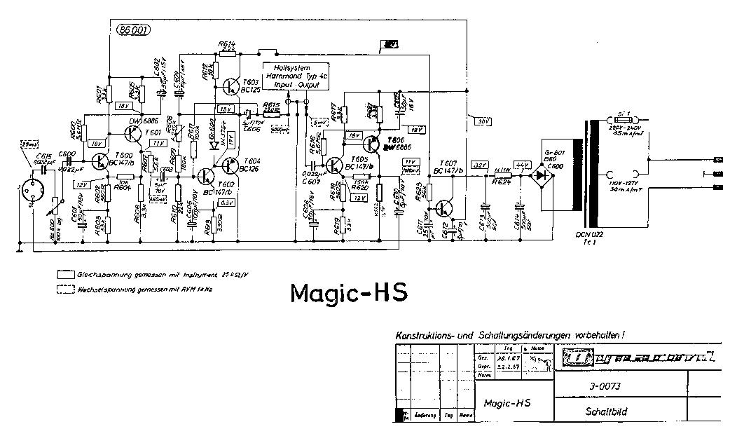 DYNACORD GIGANT V SCH Service Manual download, schematics