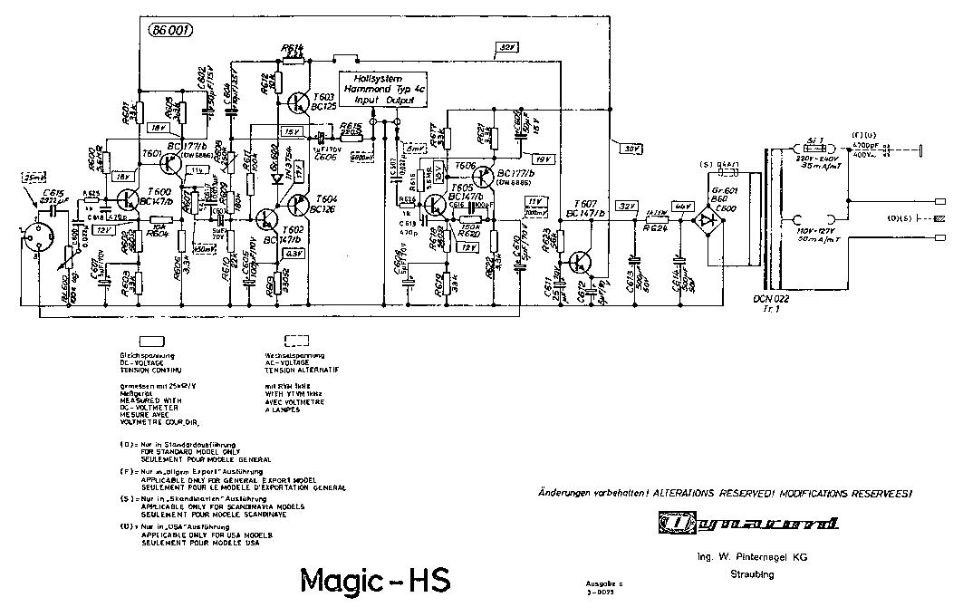 DYNACORD PCA2450 Service Manual free download, schematics