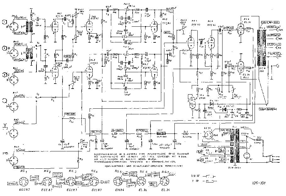 DYNACORD MV46 OLDEST SCH SCH Service Manual download