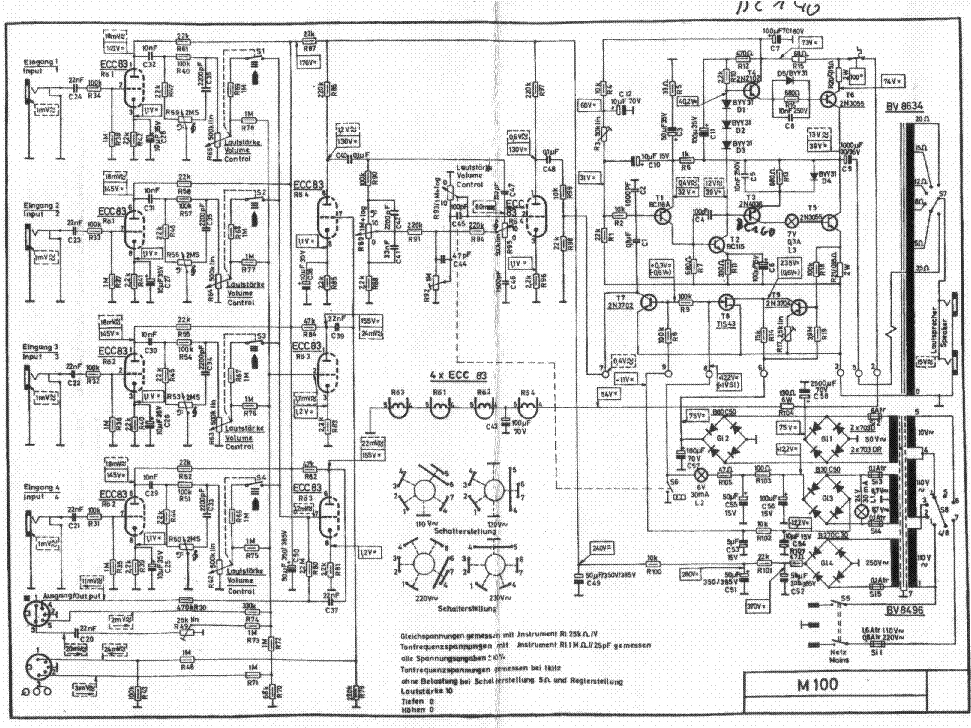 ECHOLETTE M40 SCH Service Manual download, schematics