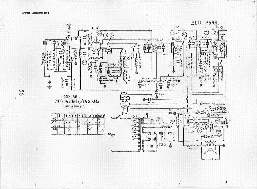 BELL-SOUND 2421 Service Manual download, schematics