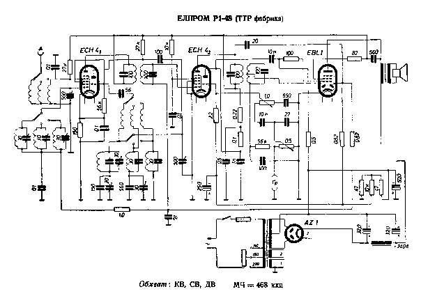 ELPROM R1-48-TTR-FABR Service Manual download, schematics