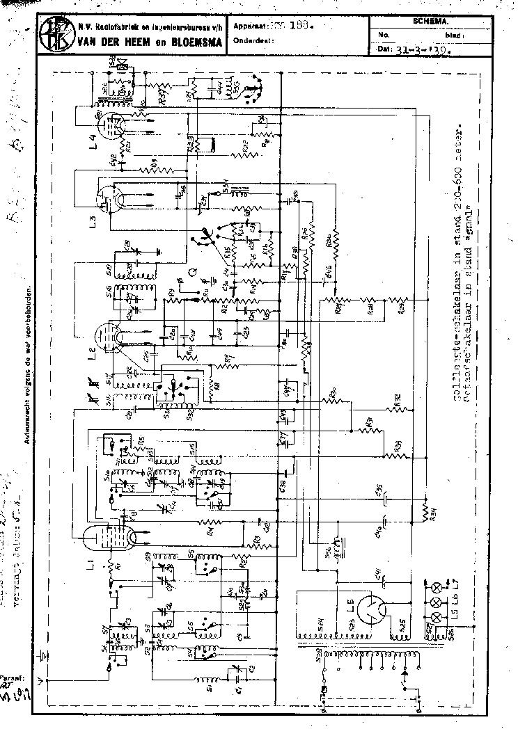 ERRES RP663 TRANSISTOR PORTABLE RECEIVER 1963 SM Service