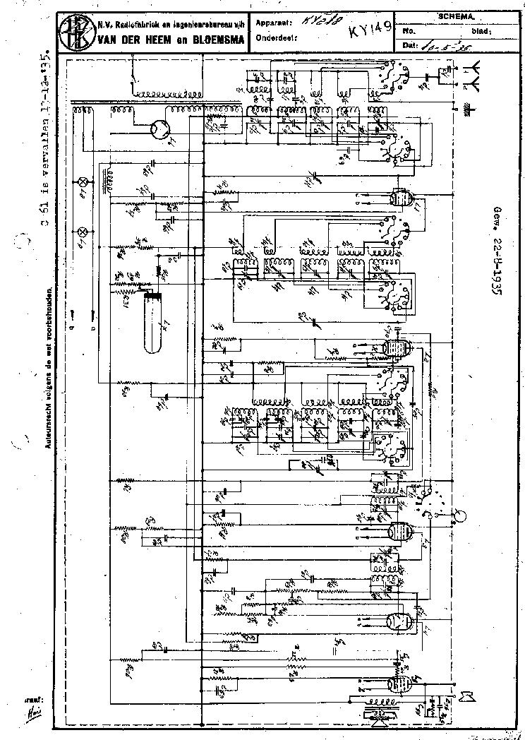 ERRES KY 149 218B RADIO 1935 SM Service Manual download