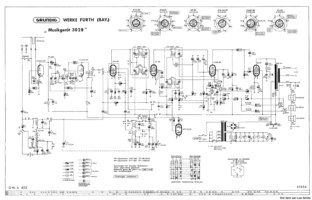 medium resolution of grundig 3028 tube radio sch service manual download schematics grundig transistor radio schematic grundig 3028