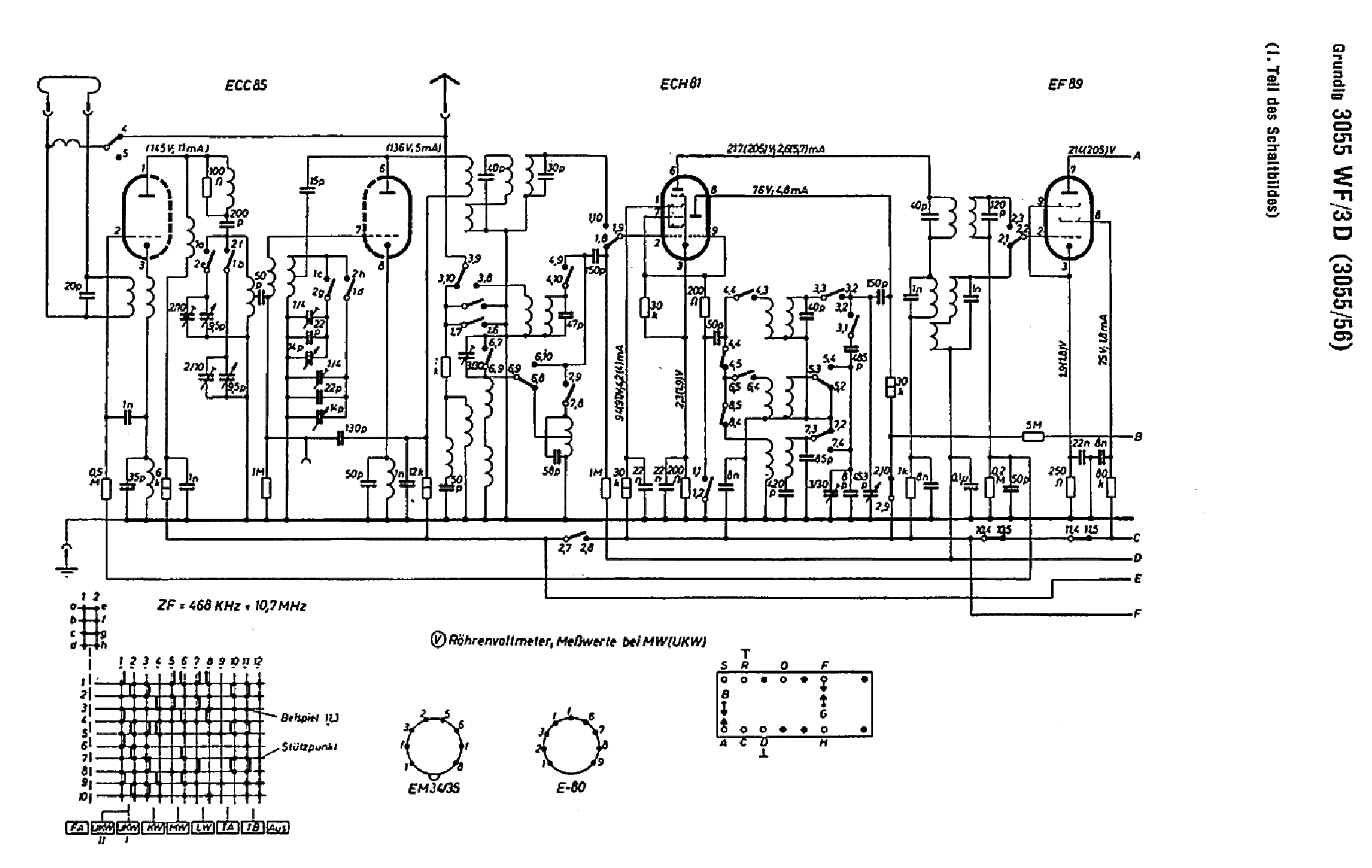 Grundig Wf Tube Radio Sch Service Manual Download