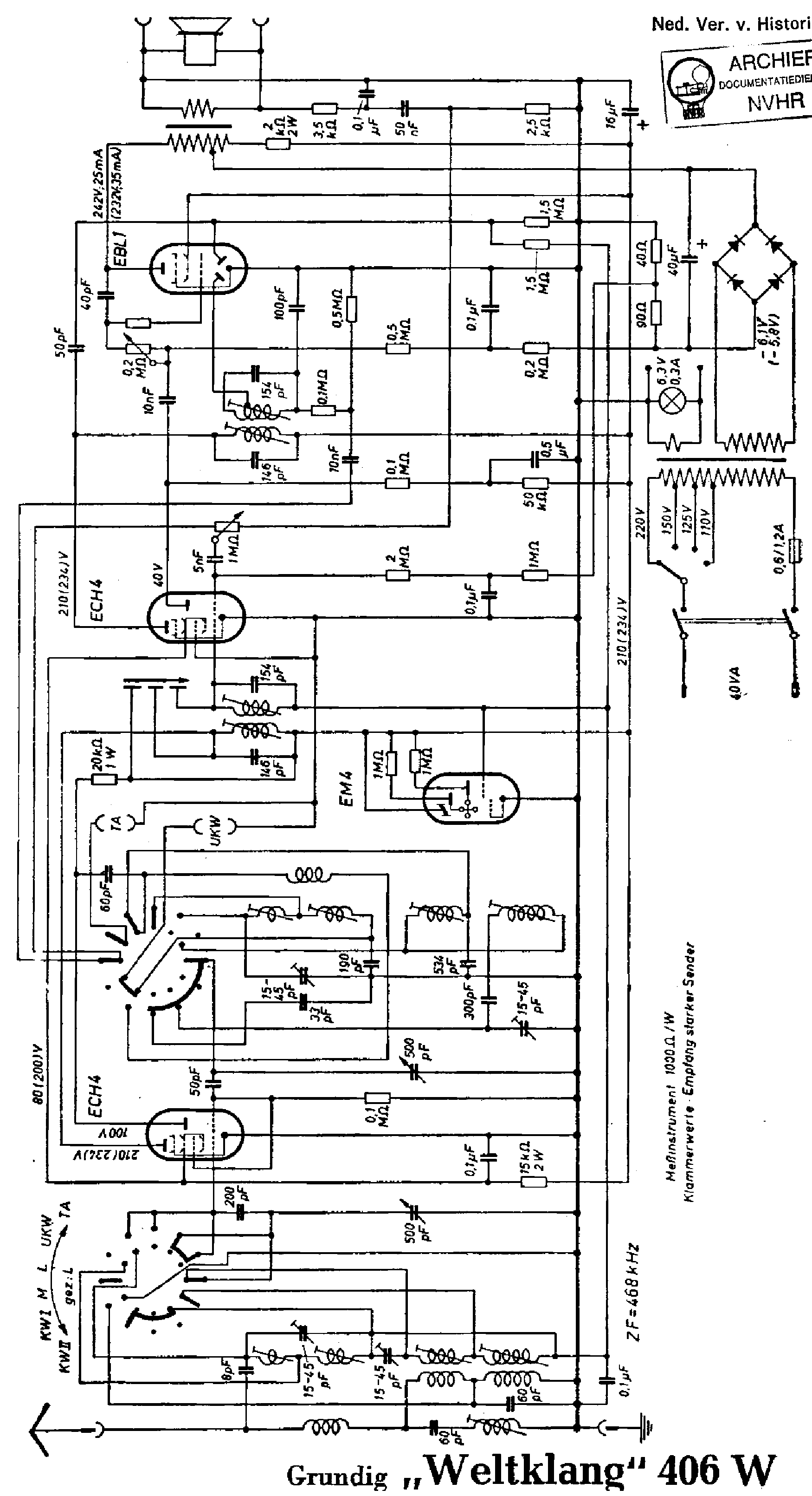 Schematic For Radio Clock
