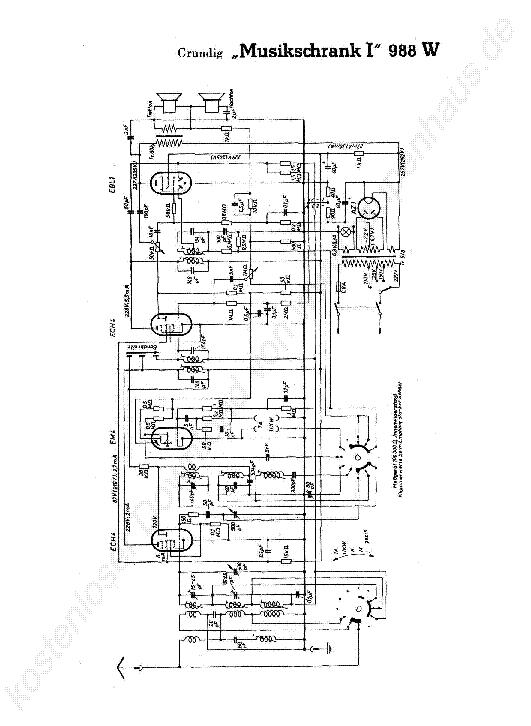 GRUNDIG V101 SCH Service Manual download, schematics