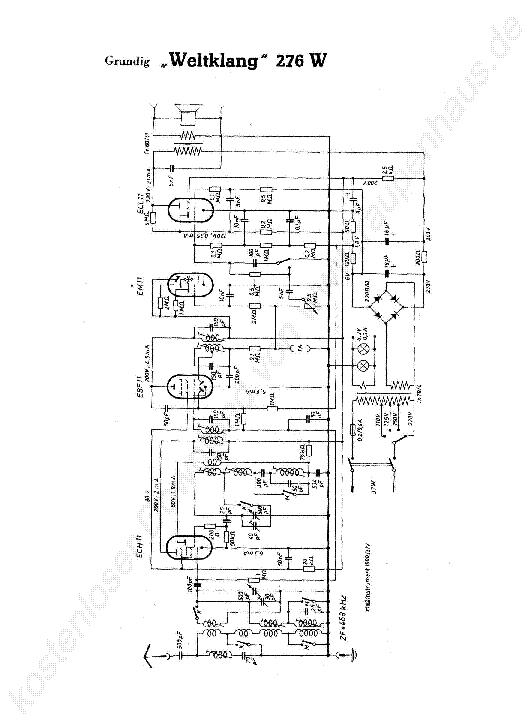 GRUNDIG CF-5000 SCH Service Manual download, schematics