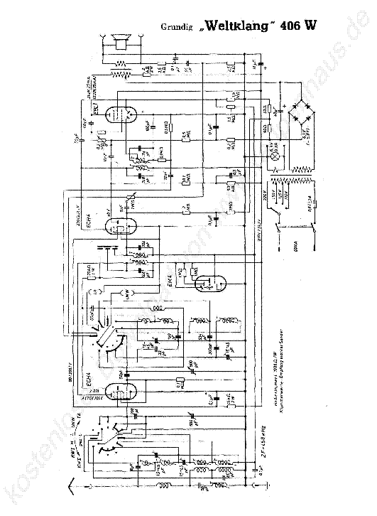 GRUNDIG CF-5000 SCH Service Manual download, schematics