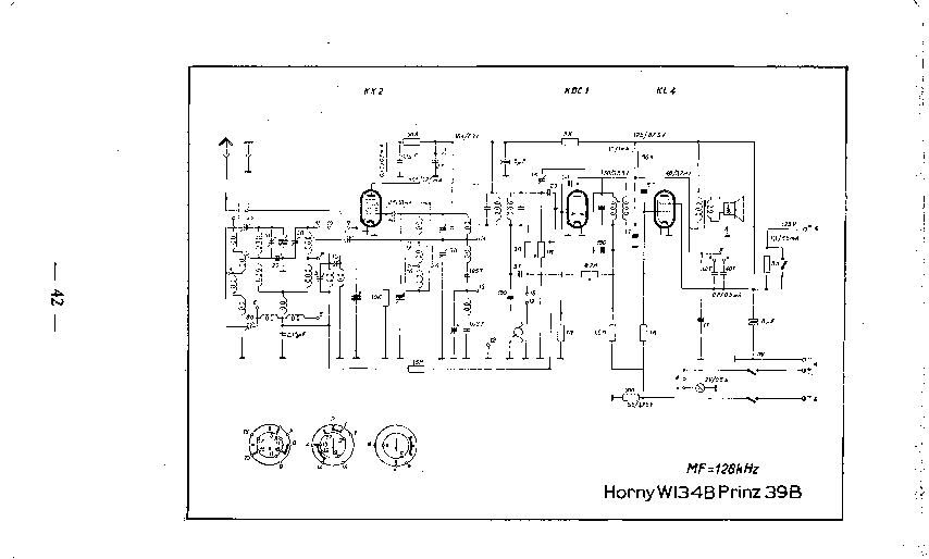 HORNY LORD36GW RADIO SCH Service Manual download
