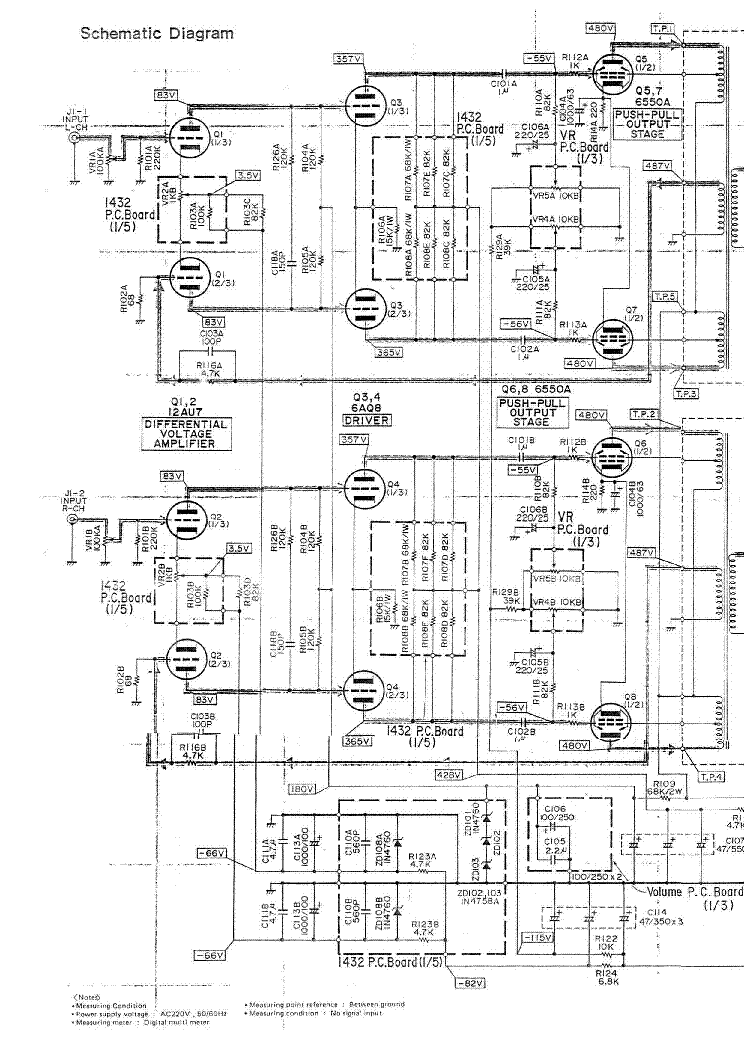 LUXMAN B12 SCH Service Manual free download, schematics