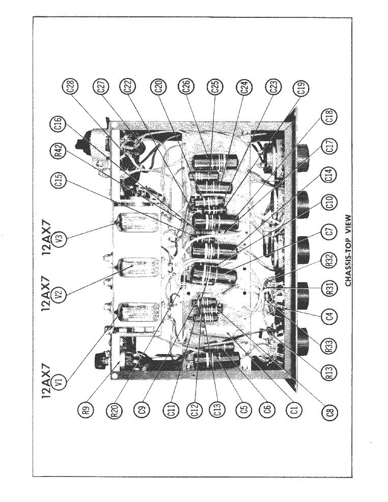 MCINTOSH C-4-P PREAMPLIFIER 1957 SCH Service Manual