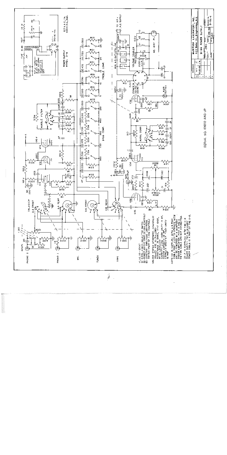 MCINTOSH C8 SCH 1956 SCH Service Manual download