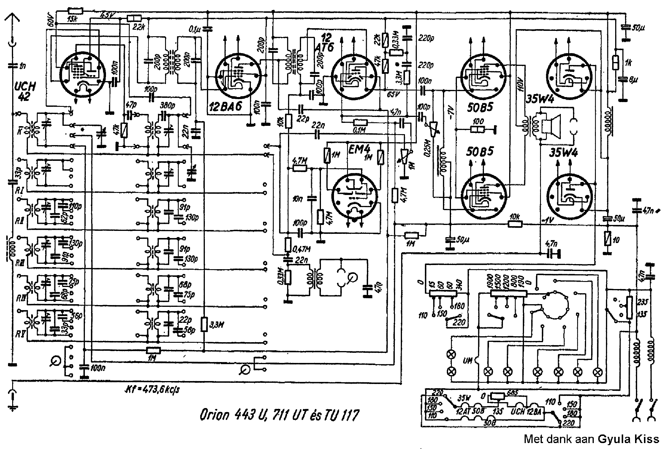ORION 130A Service Manual download, schematics, eeprom