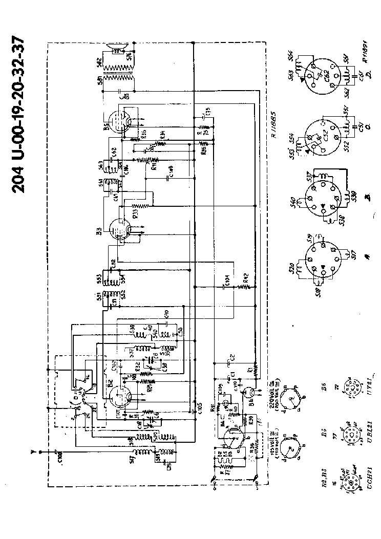 PHILIPS 204U Service Manual download, schematics, eeprom