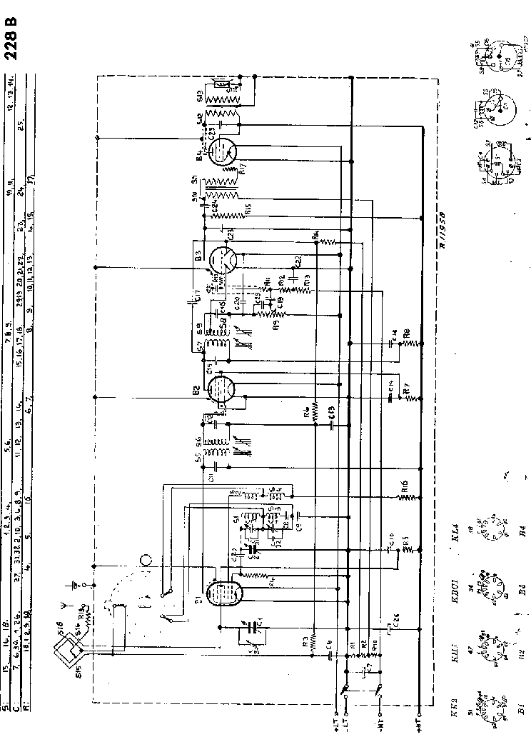 PHILIPS 228B Service Manual download, schematics, eeprom
