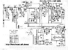 PHILIPS 525A Service Manual download, schematics, eeprom