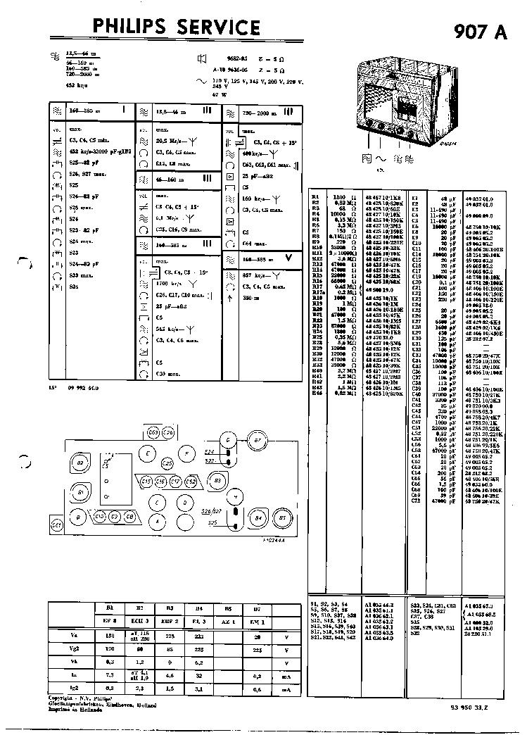 PHILIPS FW335-21 Service Manual free download, schematics