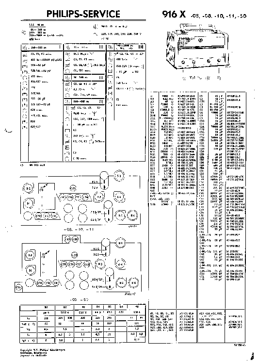PHILIPS D8803 SM Service Manual download, schematics