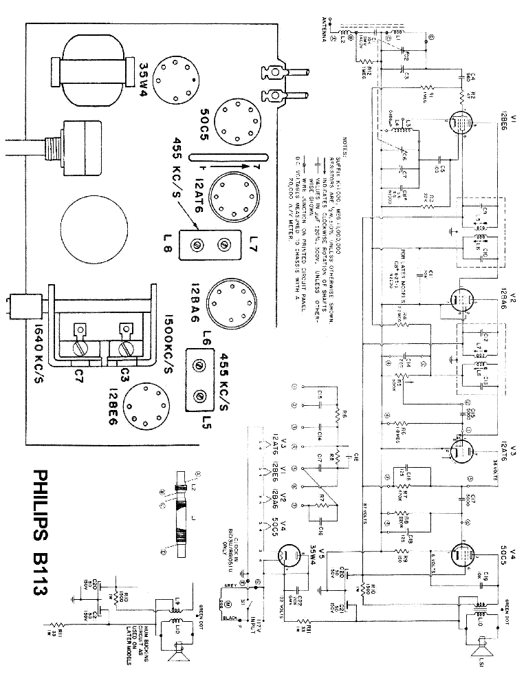 PHILIPS GA209 SM Service Manual free download, schematics