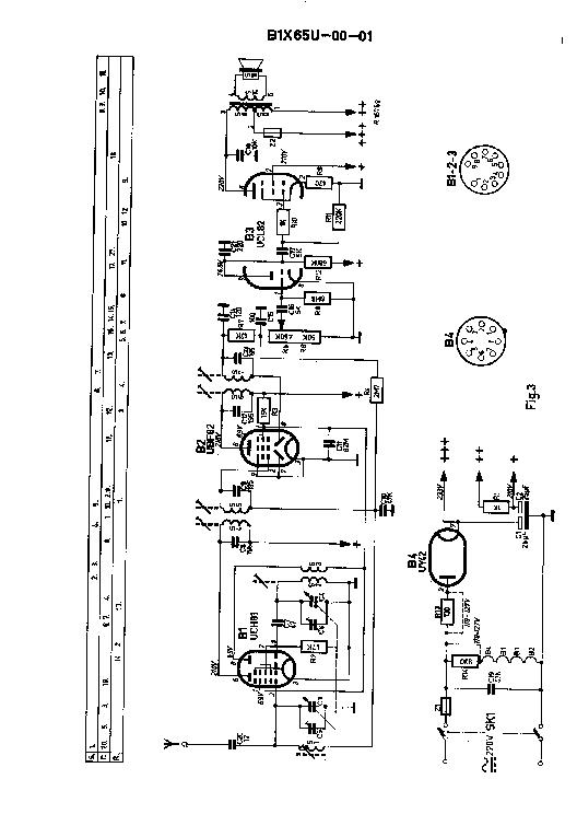 PHILIPS B1X65U SERIES AC-DC RADIO SM Service Manual