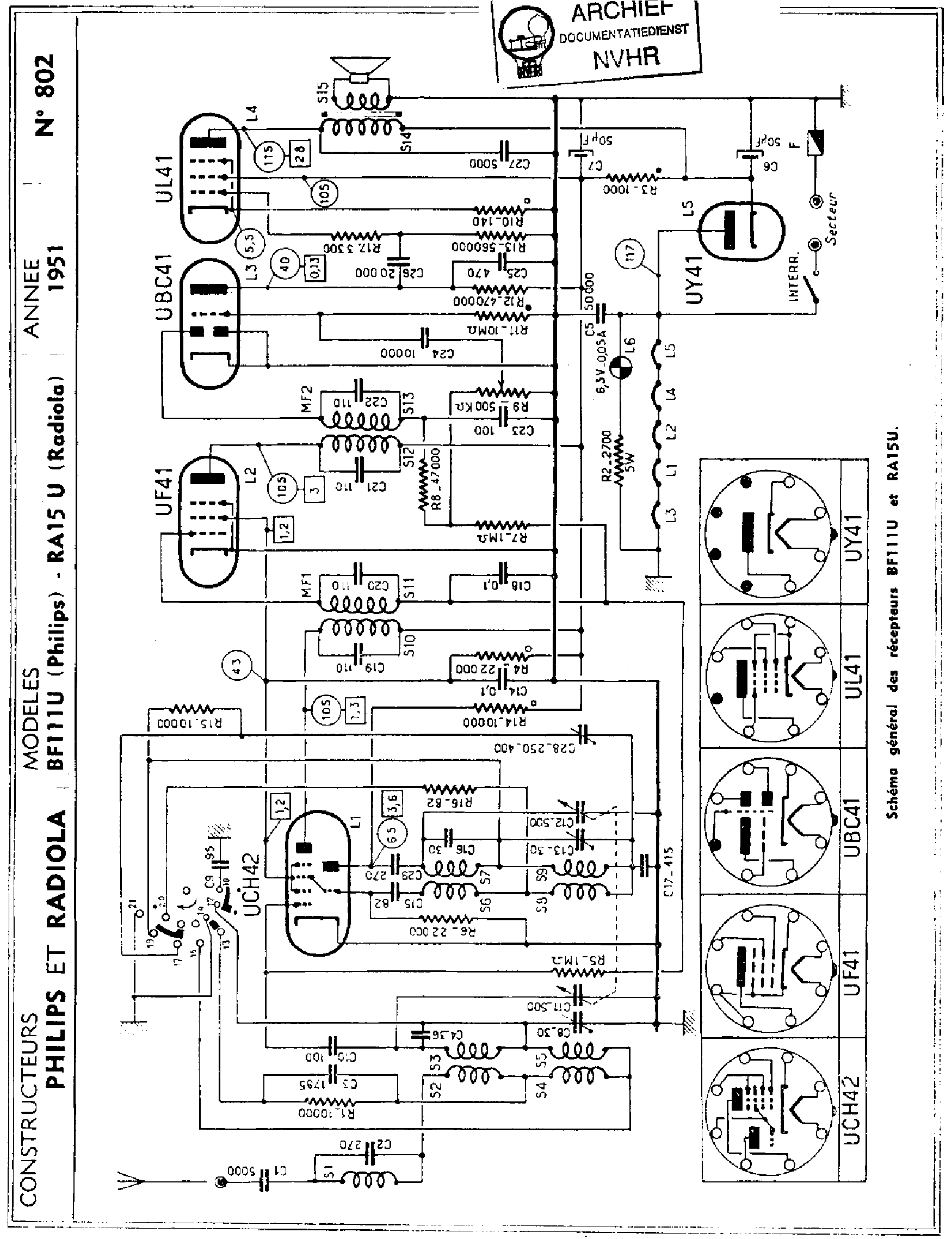PHILIPS CD640 Service Manual free download, schematics
