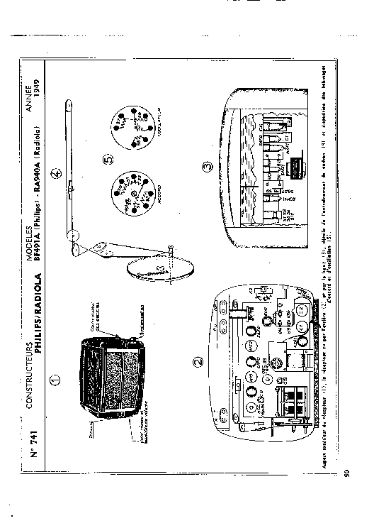 PHILIPS N4515 Service Manual download, schematics, eeprom