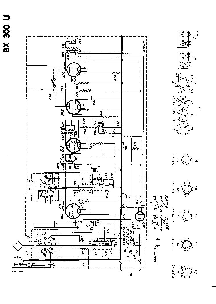 PHILIPS BX300U Service Manual download, schematics, eeprom