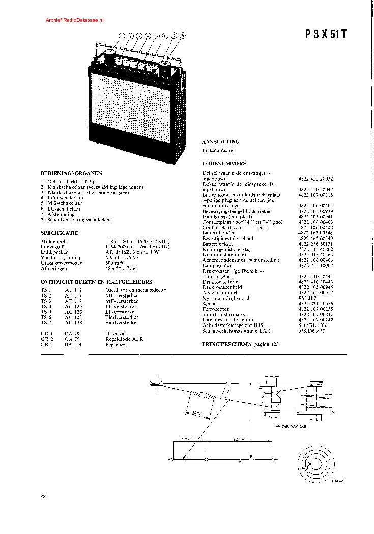 PHILIPS FR931 SM Service Manual free download, schematics