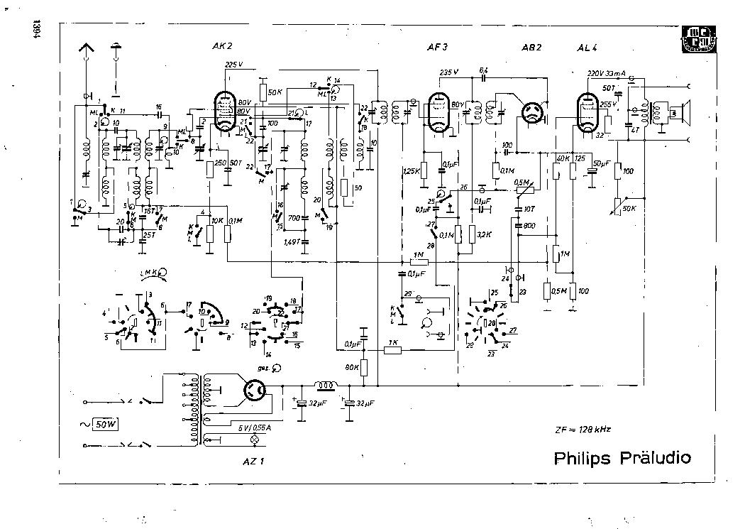 PHILIPS PRELUDIO Service Manual download, schematics