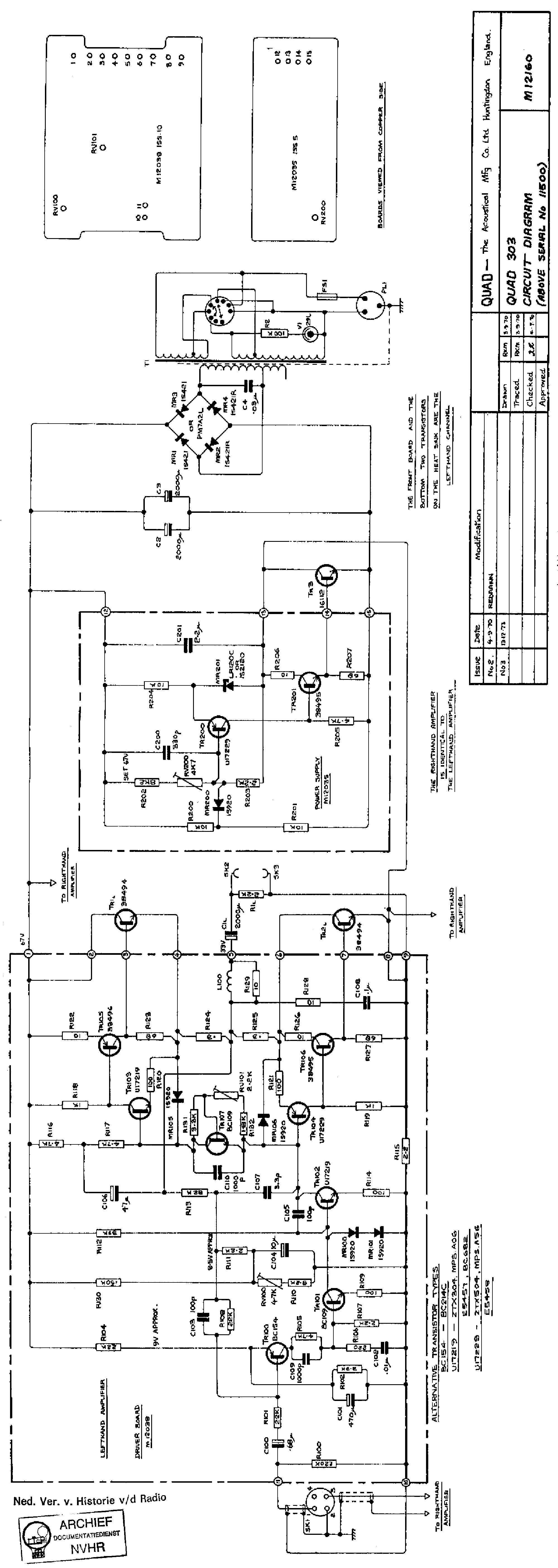 QUAD 606 SCH Service Manual free download, schematics
