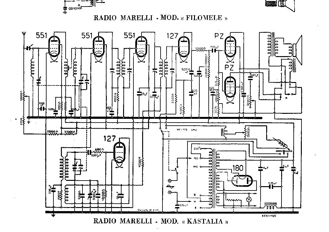 RADIOMARELLI RD200 Service Manual free download