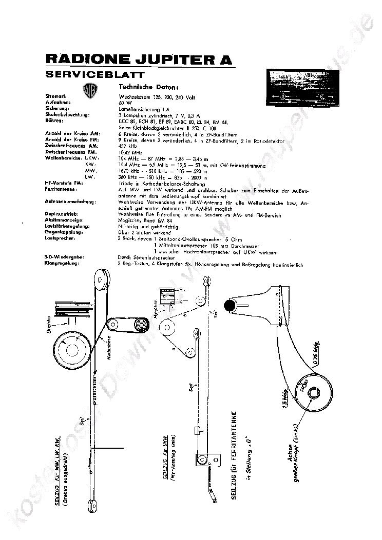 RADIONE R9 TASKARADIO SERVICE INFO CSOKESZLET 1950 SM