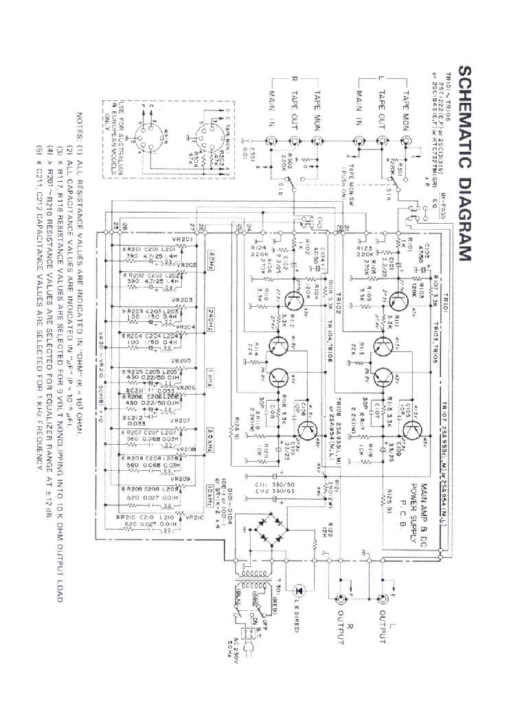 REALISTIC 31 1988 SCH Service Manual download, schematics