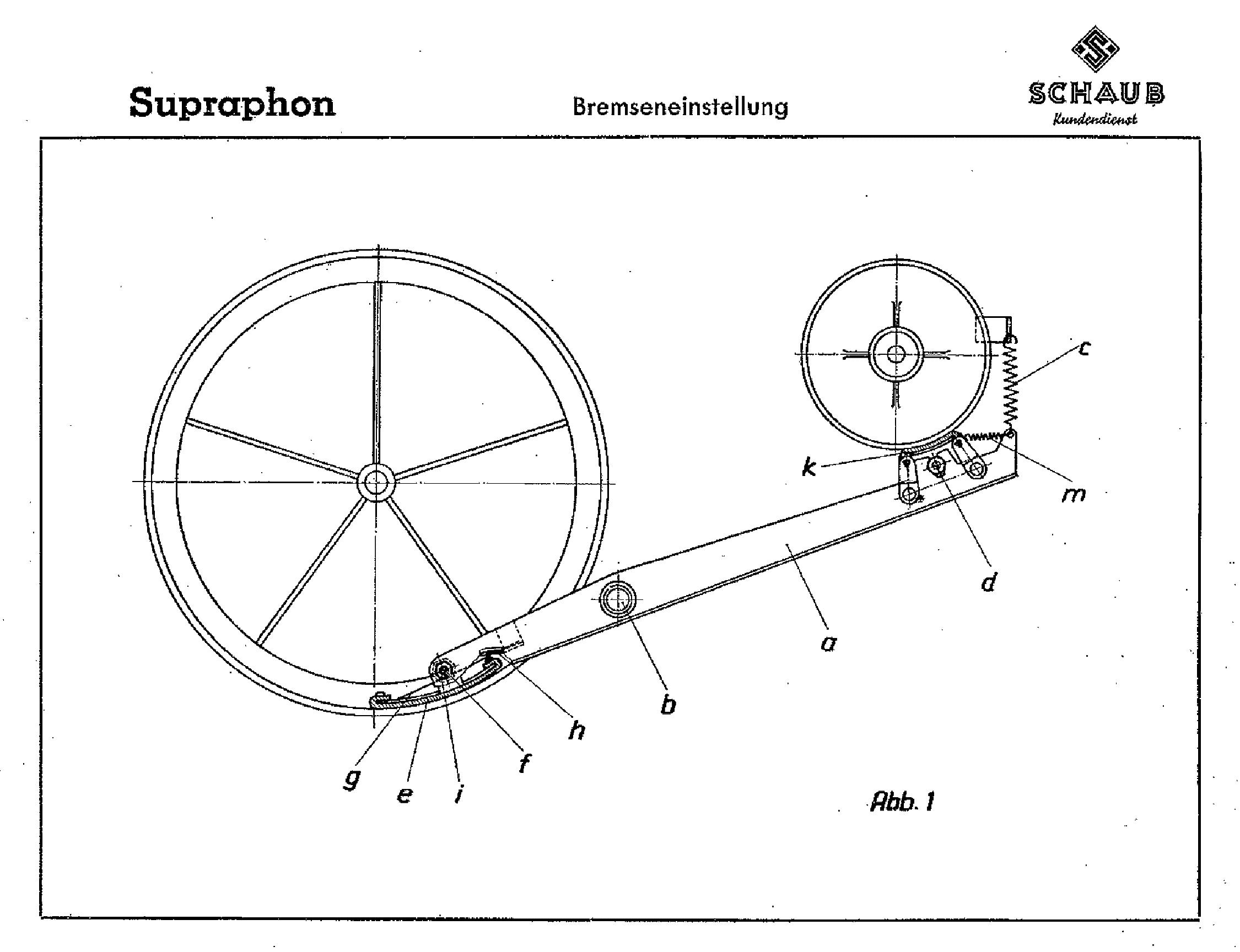SCHAUB-LORENZ SUPRAPHONE-53 AM-FM RADIO GRAMOPHONE SM