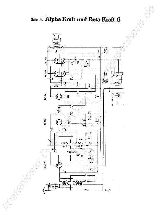 SCHAUB LORENZ-PIROL55 Service Manual free download