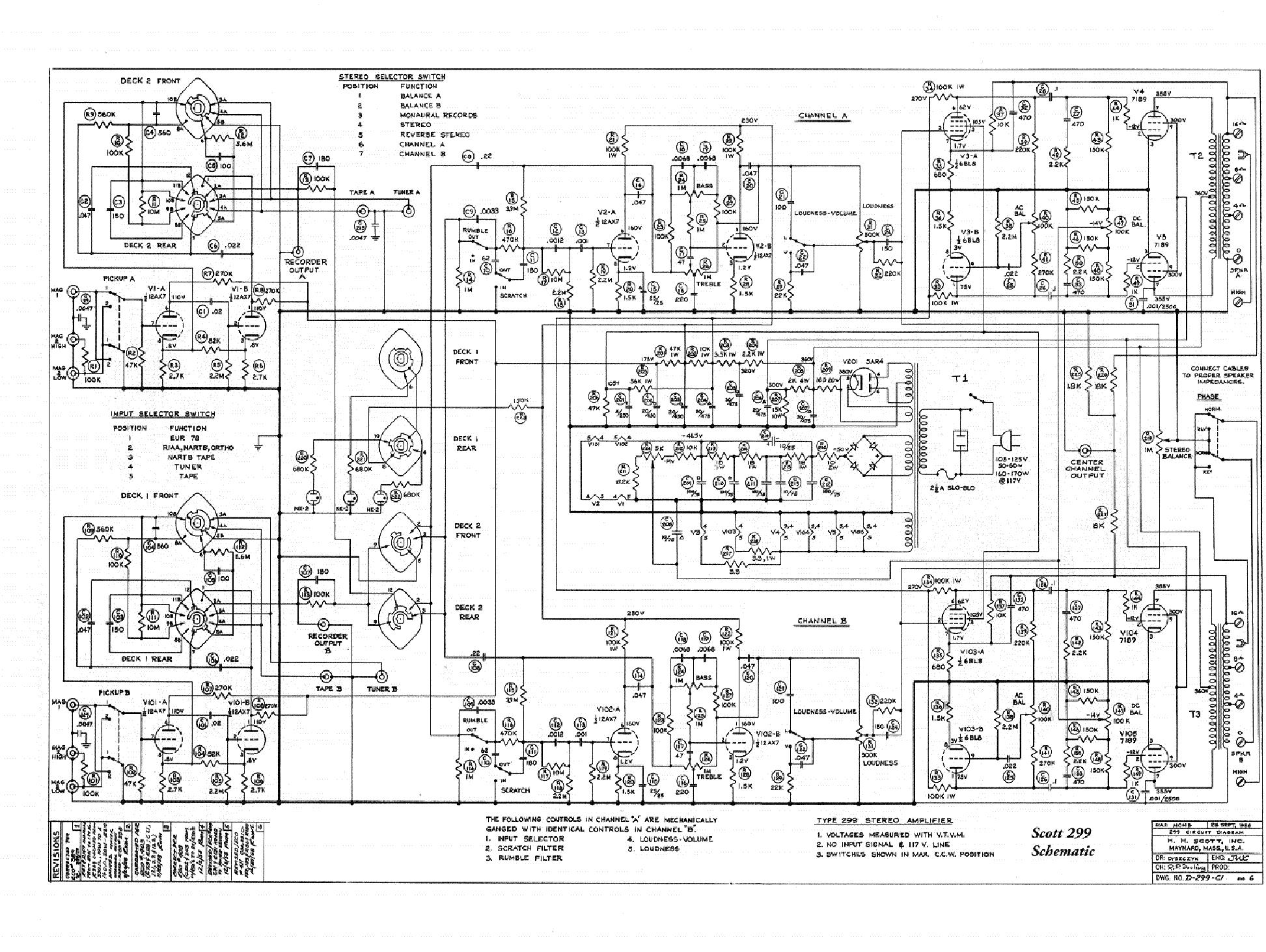 SCOTT 299 SCH Service Manual download, schematics, eeprom