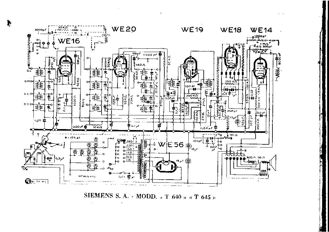 SIEMENS T 640 T 645 SCH Service Manual download