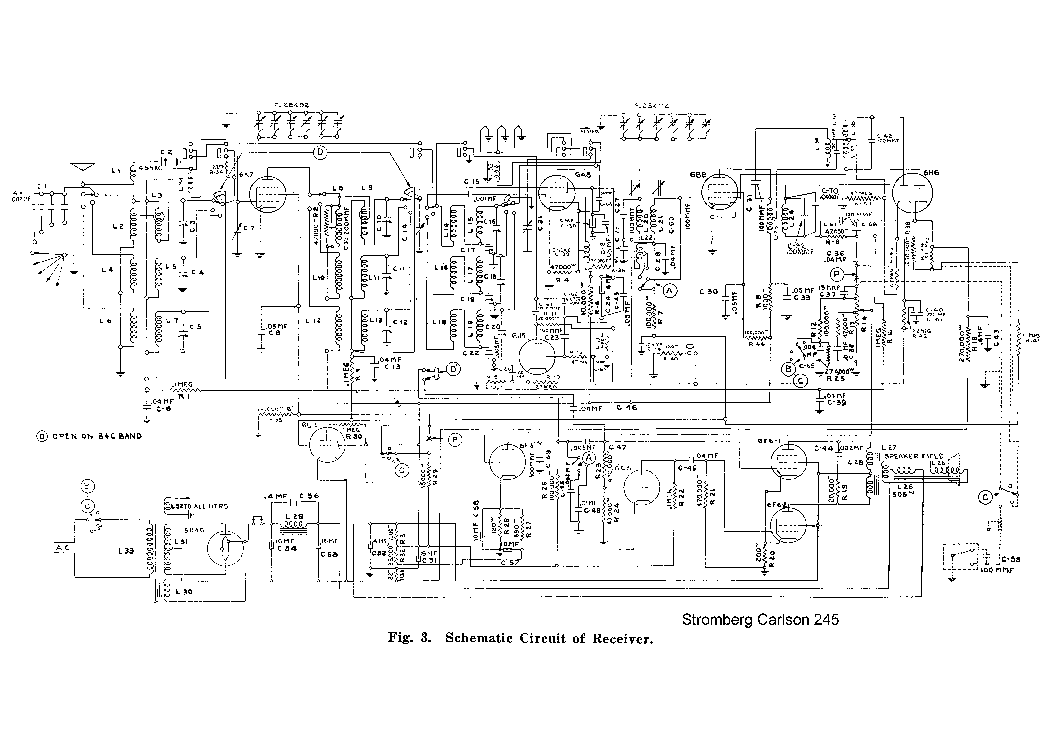 STROMBERG CARLSON 752 RADIO SM Service Manual download