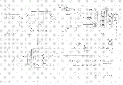 SUPRO SUPREME 1950 SCH Service Manual download, schematics