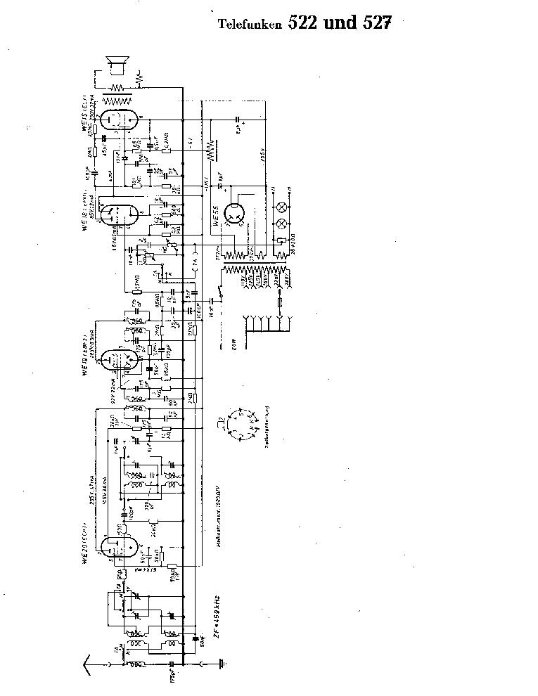 TELEFUNKEN B-644-GWK SCH Service Manual free download
