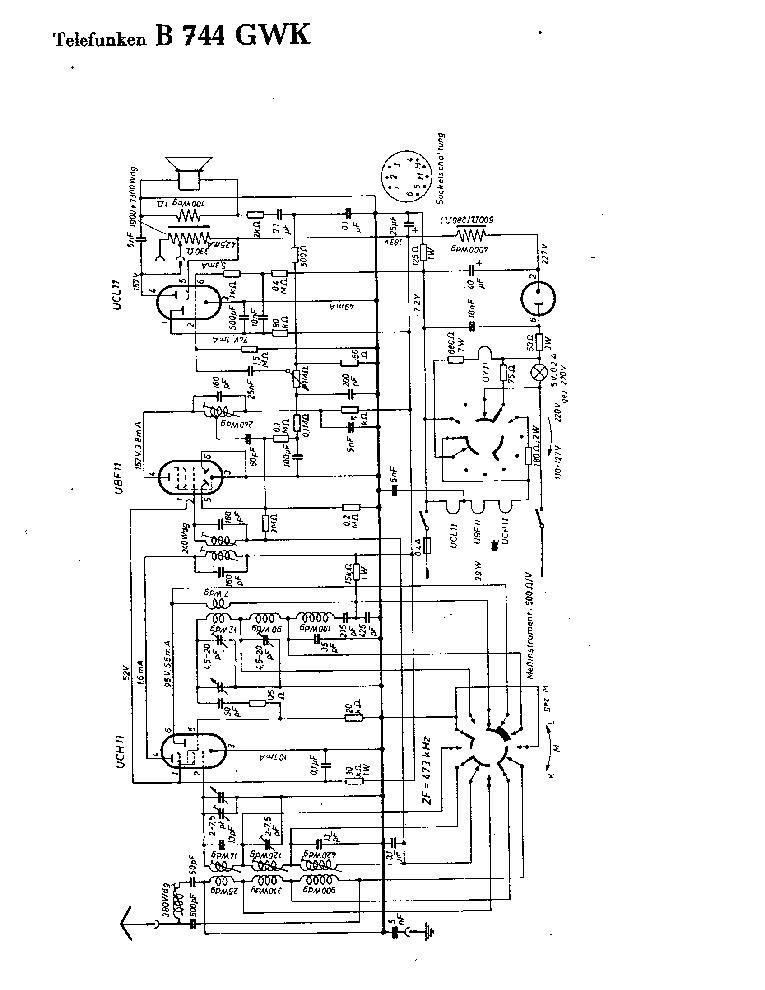 TELEFUNKEN 875-WK SM Service Manual download, schematics