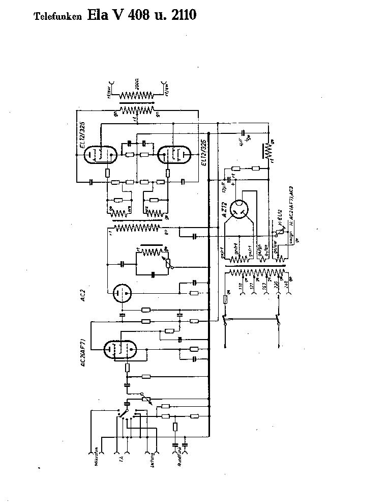 TELEFUNKEN RT-200 Service Manual free download, schematics