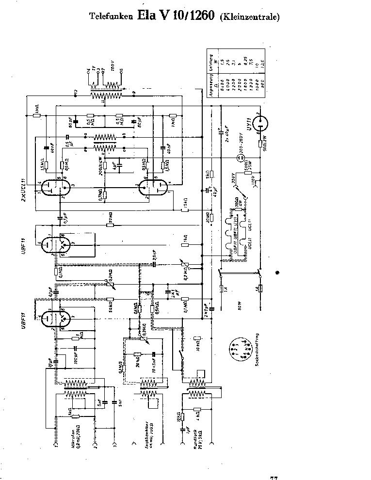 TELEFUNKEN 340 W Service Manual download, schematics