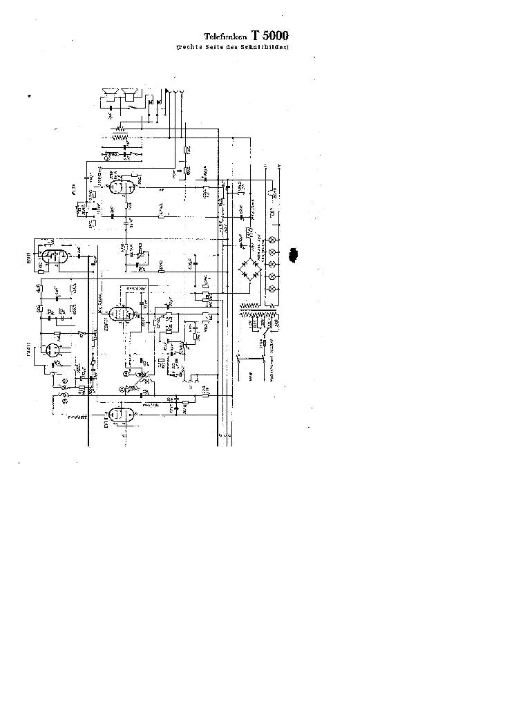 TELEFUNKEN T5000 Service Manual download, schematics