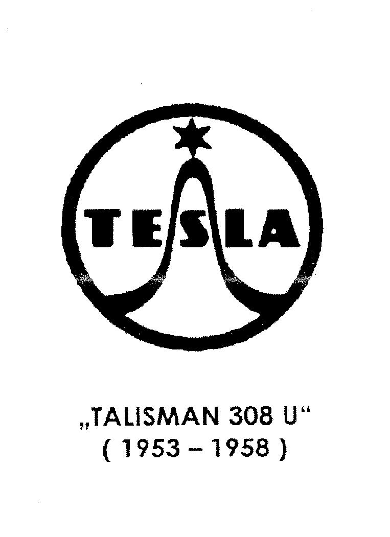 TESLA 305 306 307 308 U AC-DC RADIO 1953 SM Service Manual