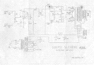 VALCO SUPRO SUPREME 1950 SCH Service Manual download