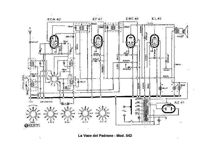 VOCE DEL PADRONE 552 MARCONI-1551 SM Service Manual